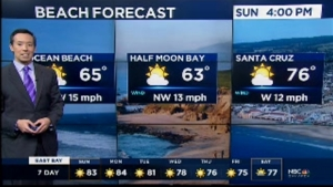 High pressure will continue to provide mostly sunny skies and warm to hot temperatures for locations away from the coastline and inner bay.  Highs will range from the 60s and 70s near the coastline with 70s-80s around the Bay. Valleys will likely see a few days in the low to mid 90s with hottest spots inland around Solano County and eastern Contra Costa counties soaring to near 100 degrees.