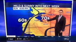 Meteorologist Anthony Slaughter has your weekend Bay Area forecast.