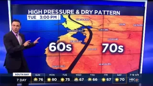 Meteorologist Anthony Slaughter has your warm Sunday Bay Area forecast.
