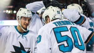Sharks Open Road Trip With Win Thanks to Late Heroics