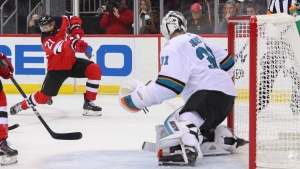 Sharks Win Streak Snapped in Loss to Capitals