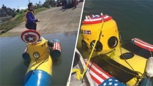 Report of Downed Aircraft Turns Out to Be Homemade Sub