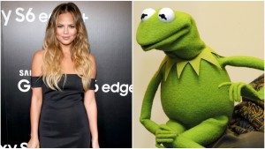 Kermit Throws Major Green Shade at Teigen as Internet Erupts