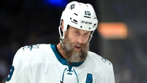 Thornton Discusses Whether He'll Be Back With the Sharks