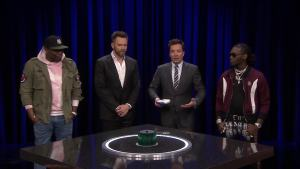'Tonight': 'Catchphrase' With McHale, Che, Offset