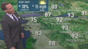 <p>Morning clouds return near the coast and bay with mostly clear sky inland.  Chief Meteorologist Jeff Ranieri tracks how warm this weekend as humid monsoonal storms remain to our East in your Microclimate Forecast.</p>