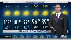 A very strong ridge of high pressure continues to bring dangerous heat Inland.  Chief Meteorologist Jeff Ranieri tracks who reaches 104°.  Plus, exactly when cooling arrives this weekend in your Microclimate Forecast.