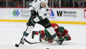 Sharks Can't Tame the Wild, Losing Streak Now at Four