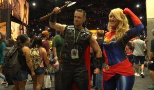 Woman Empowerment Felt at Comic-Con 2018