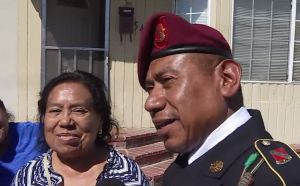 Deported Veteran Returns to California Home