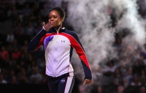 Gabby Douglas — 'Flying Squirrel' is at it Again