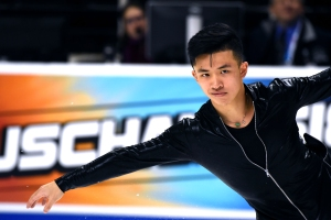 Jimmy Ma Pushes Envelope in World of Figure Skating
