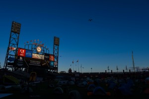 SF Giants Fans Camp Out Under the Stars at AT&T Park