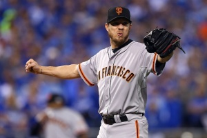 One Swing Ruins Peavy's Solid Return to Giants