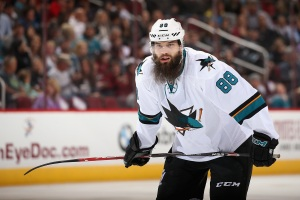 Burns Leads the Charge, Sharks Dominate Coyotes