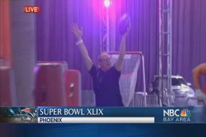 Hut-Hut-Hike: Re-enacting the NFL Experience With Reporter Bob Redell