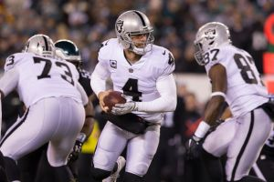 Gruden, Olson Focused on Getting Carr Back on Track