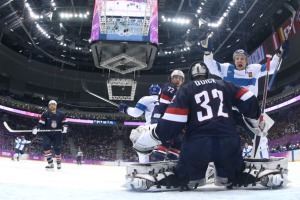 U.S. Can't Prove It's Mettle as Finland Takes Bronze