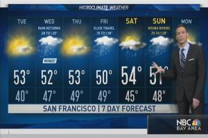 The sunny weather most recently begins to fade as rain is likely to return by Wednesday. Chief Meteorologist Jeff Ranieri tracks a total of three possible storms in the next seven days. Plus, details on which river could rise the most in your Microclimate Forecast.