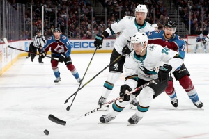 Sharks Unable to Cap Off Comeback Against MacKinnon, Avs