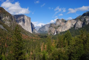 Rainbows, Hail and Sunny Skies in Yosemite