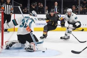 Sharks Avoid Elimination With Game 6 Win Over Vegas in 2OT