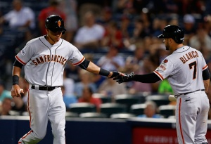 Giants Blow 2 Leads, Stunned By Braves in 12