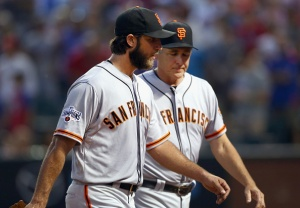 Bumgarner Gets Fired Up, Giants Unable to Hit Back