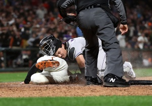 Punchless Giants Shut Out by Rockies