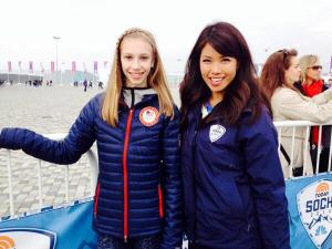 Janelle Wang's Sochi Blog: The Craziest Afternoon Ever