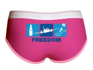 Beer + Plane + Slide = Freedom