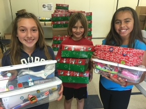 Operation Christmas Child Collecting Shoebox Donations Across Santa Clara County