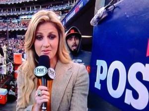 Sergio Romo's Dugout Photobomb Fun