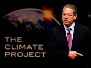 "Al Gore Hopes ""Stalker Economy"" Makes Us Gag"