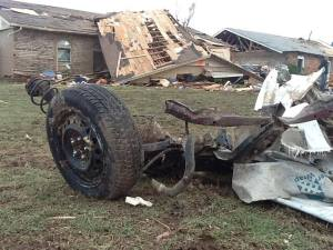 Tornado Survivors Determined to Rebuild