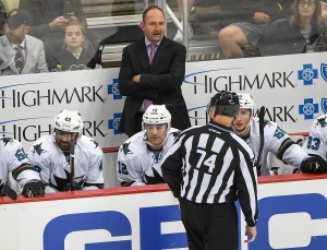 Sharks Blanked By Wings, End Road Trip With Thud