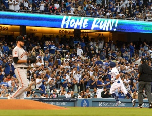 Giants Suffer Another Lopsided Loss to Rival Dodgers