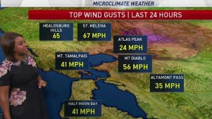 <p>Winds will increase today causing high fire danger in the hills. Meteorologist Kari Hall has details in the Microclimate Forecast.</p>