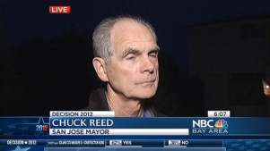 Mayor Chuck Reed On SJ Wage, Rose Herrera