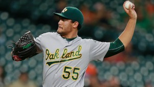 Manaea Exits Early With Injury as A's Blanked by Astros