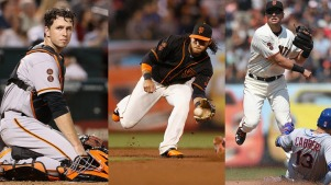 Giants Stars Posey, Crawford, Panik Capture Gold Gloves