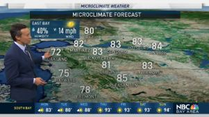 <p>Areas of drizzle will be possible Monday, especially near the coast and bay, along with locally blustery conditions with onshore winds in the 15-30 mph range. Meteorologist Rob Mayeda has your Microclimate Forecast.</p>