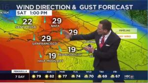 Temperatures warm several more degrees Saturday.  Chief Meteorologist Jeff Ranieri tracks this and how gusty winds will become in your Microclimate Forecast.