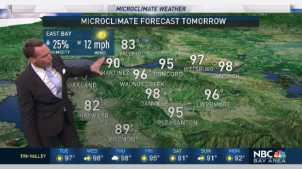 <p>AM Low clouds will be back near the coast.  Chief Meteorologist Jeff Ranieri tracks your morning forecast and how hot by the afternoon.  Plus, when humidity and monsoonal moisture moves near the Bay Area in your Microclimate Forecast.</p>