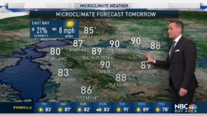 <p>We'll warm at the coast and inland this weekend.  Chief Meteorologist Jeff Ranieri tracks what you can expect.  Plus, how much hotter next week in your Microclimate Forecast.</p>