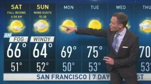 <p>Our cool foggy breeze returns this weekend to drop temperatures.  Chief Meteorologist Jeff Ranieri tracks this and when winds could increase to bring back higher fire danger in your Microclimate Forecast.</p>