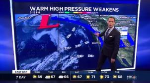 Mild high pressure will weaken allowing temperatures to cool.  Chief Meteorologist Jeff Ranieri tracks your Microclimate Forecast.  Plus, what chances of rain are in the forecast right now.