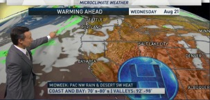 Rob's Forecast: Weekend Cooling, Heat Returns Next Week