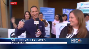 NBC Bay Area & Chief Meteorologist Jeff Ranieri joined forces with #SVGives to help raise money for nonprofits across the Bay Area.  He spoke with one of the main sponsors, Microsoft who explains why it's such a great way to donate.  Plus, details on a few showers this week in your Microclimate Forecast.