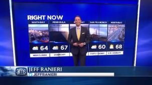 Storms will linger in the Pacific but miss the Bay Area as high pressure remains constant.  Chief Meteorologist Jeff Ranieri tracks exactly how warm.  Plus, details on very dangerous surf and high pollen.